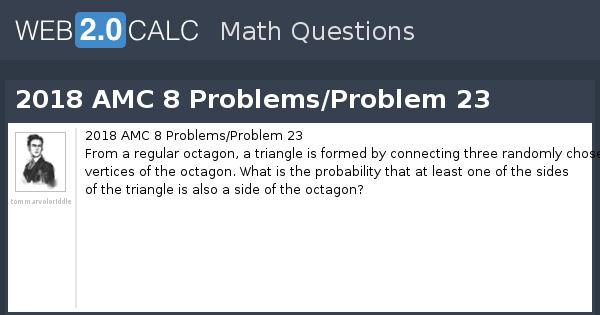 View question - 2018 AMC 8 Problems/Problem 23