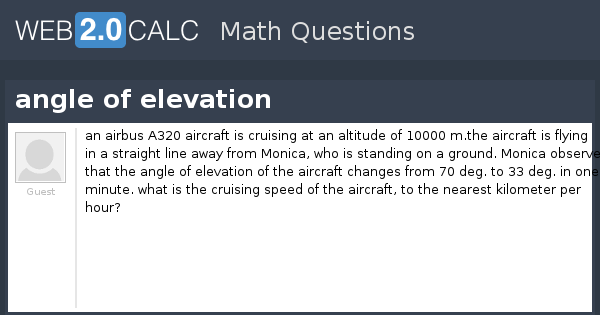 A320 To Calc