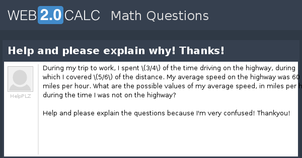 view question help and please explain why thanks