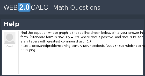 View Question Help