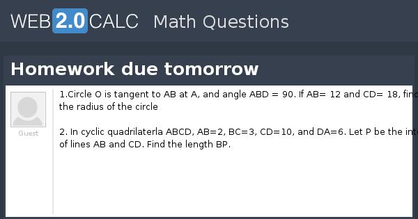 bpc homework wiki