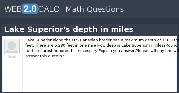 Lake Superior S Depth In Miles also Eulers Method Accuracy Exercises together with An Equilateral Triangle With Side Length 18 Cm Is likewise Watch together with Heat Equation Please Help. on differential calculus