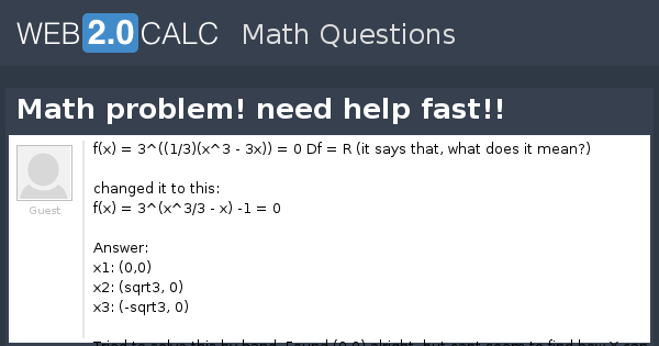 help with a math problem The problems come around when parents try to help their kids without really understanding the when dash grows up he will be able to help his super kids with math.