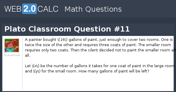 view question - plato classroom question #11