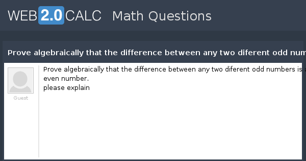 how to find even and odd functions algebraically
